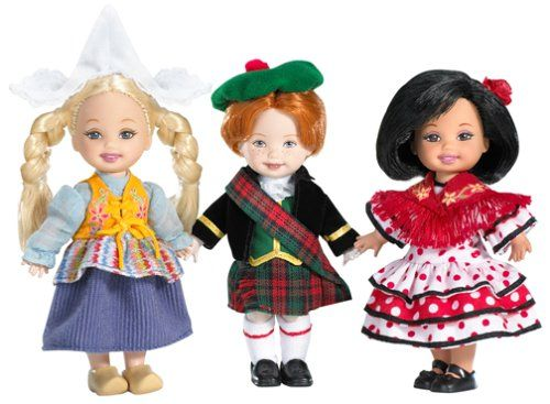 Elly friends of the world dolls t set(second edition) (europe