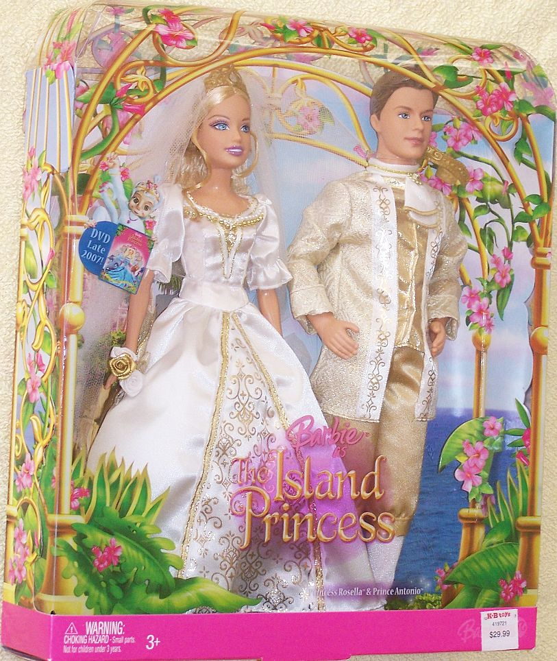 . Barbie as The Island Princess Rosella   Antonio Wedding Gift Set