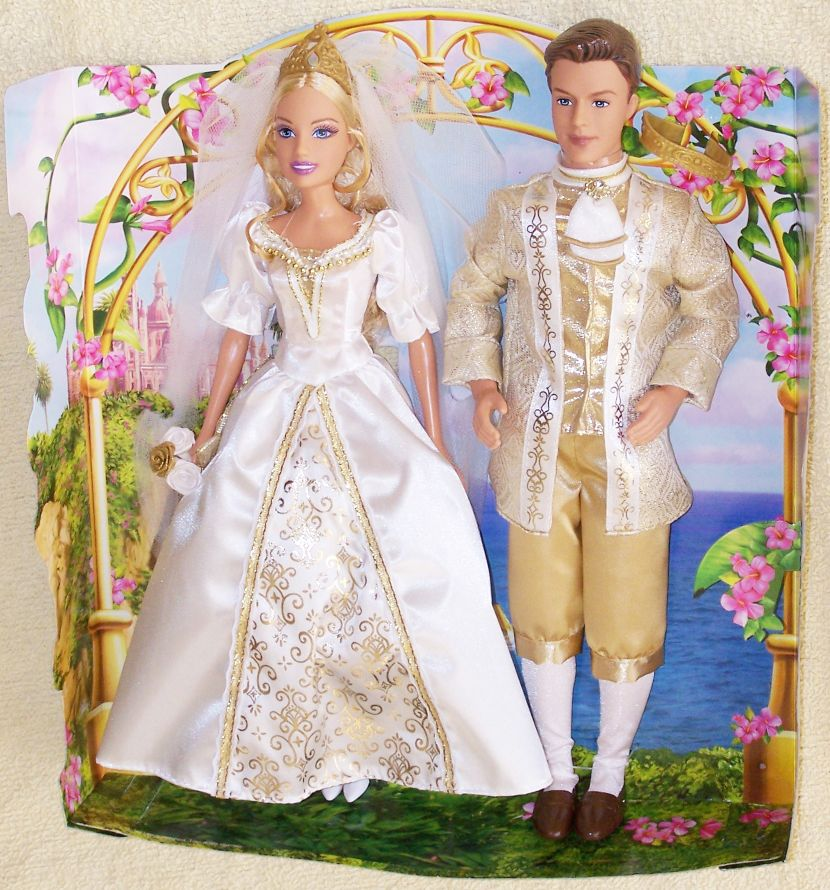 Wedding Gift Set Barbie : Barbie as The Island Princess Rosella & Antonio Wedding Gift Set ...