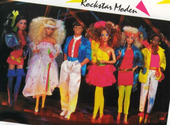 barbie rockers