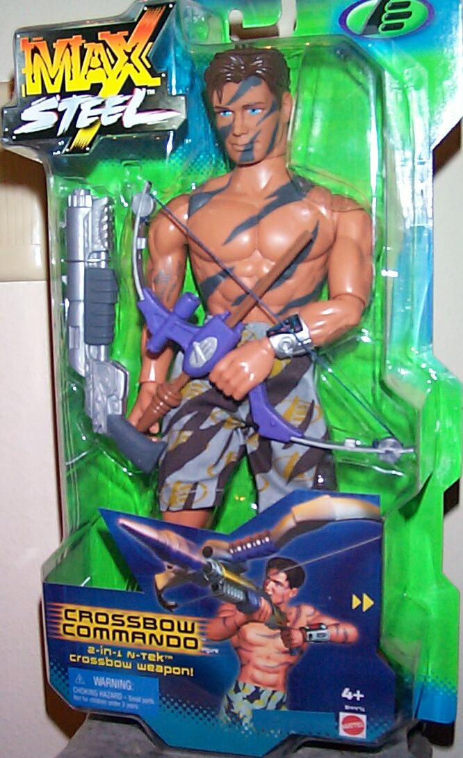 "This figure also came packaged with a free MaxSteel video ""Old Friend ..."